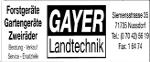Gayer Landtechnik