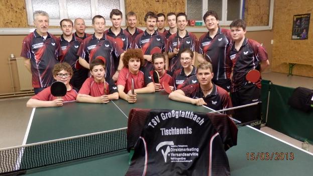 Die Tischtennisabteilung