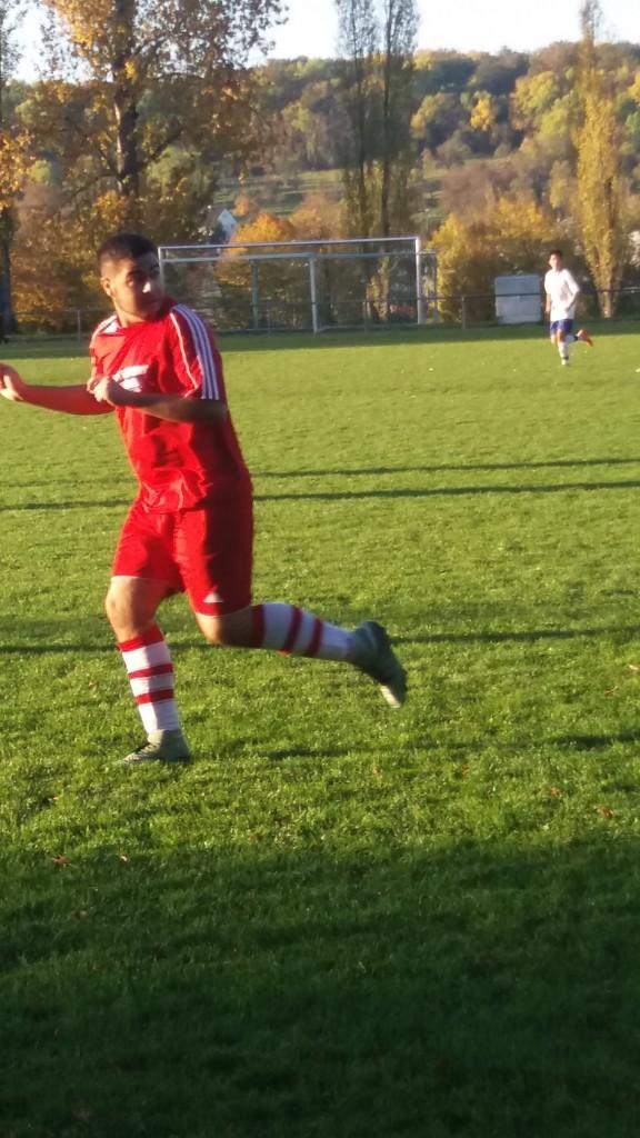 Luis Müller de la Pena krönte seine starke Leistung mit einem Tor und einer Torvorlage