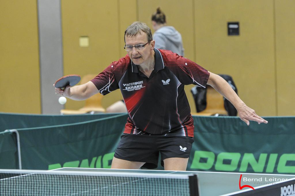 Harald Klingel überzeugte mit zwei Einzelsiegen